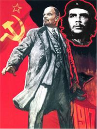 Lenin, Che Guavera, Komünizm, Communism