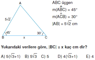 Dik Ucgen_Cozumler_Test_I_014