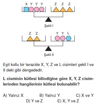 Madde ve Özellikleri çözümlü test 2005