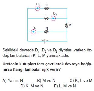 Elektrik Akımı test 2002