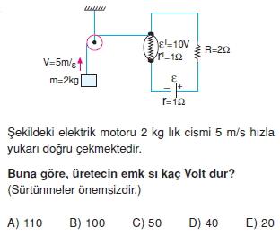 Elektrik Akımı test 2010