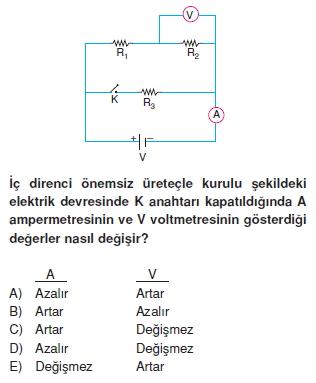 Elektrik Akımı test 4002