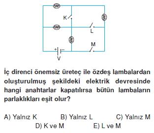 Elektrik Akımı test 4003