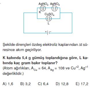Elektrik Akımı test 4012