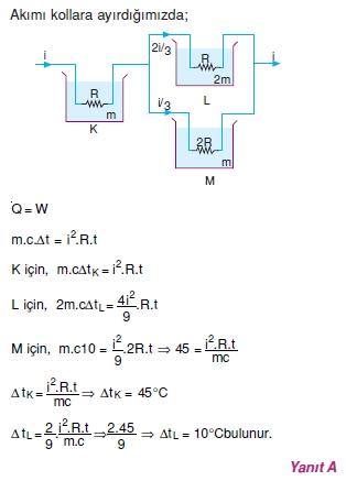 Elektrik Akımı çözümler 2001
