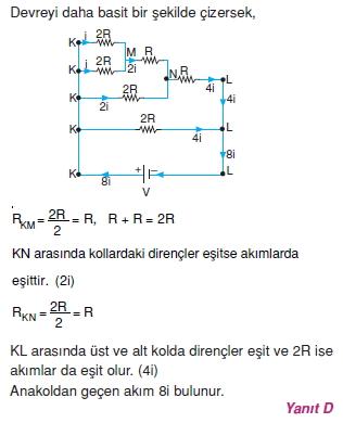 Elektrik Akımı çözümler 2003