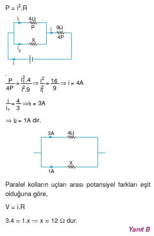 Elektrik Akımı çözümler 2009