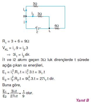 Elektrik Akımı çözümler 2010