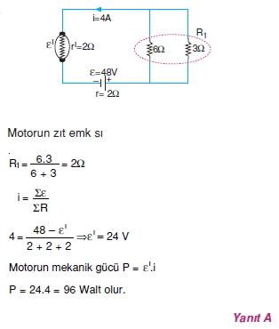 Elektrik Akımı çözümler 2012