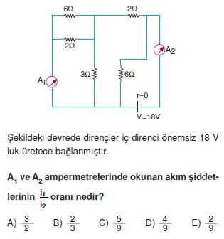Elektrik Akımı test 1002