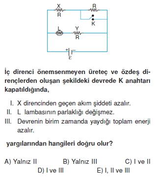 Elektrik Akımı test 1003