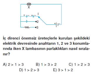 Elektrik Akımı test 1004