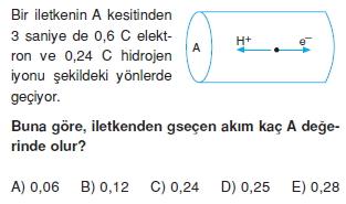 Elektrik Akımı test 4007