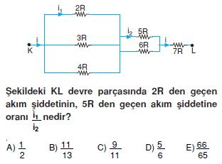Elektrik Akımı test 4009