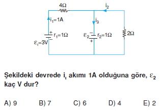 Elektrik Akımı test 4011