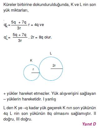 Elektrostatik çözümler 1003