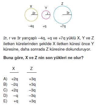 Elektrostatik çözümlü test 2007