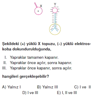 Elektrostatik çözümlü test 2010
