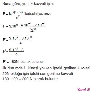 Elektrostatik çözümler 2002-1