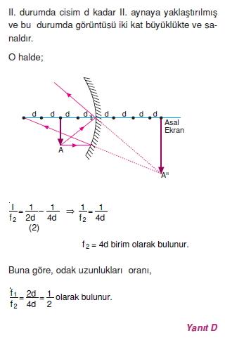 Işık Bilgisi çözümler 2010-1