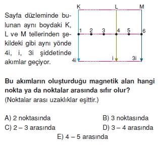 Magnetizma çözümlü test 1002