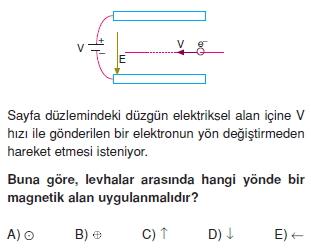 Magnetizma çözümlü test 1003