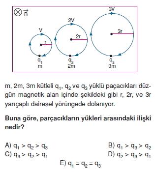 Magnetizma çözümlü test 1009