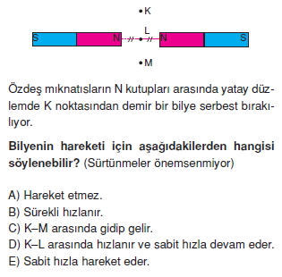 Magnetizma test 2001