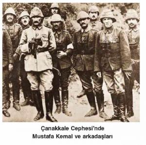 Çanakkale cephesi Mustafa Kemal ve Arkadaslari