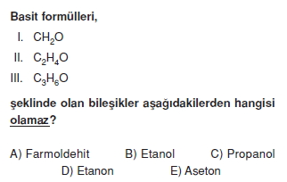 Aldehitveketonlarcözümlütest2003