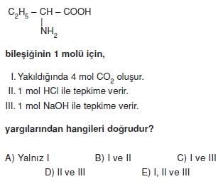 Karbonhidratlarazottürevlerivearomatikbilesiklericözümlütest2009