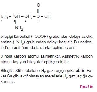 Karbonhidratlarazottürevlerivearomatikbilesiklericözümler1005