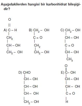 Karbonhidratlarazottürevlerivearomatikbilesiklericözümlütest1002
