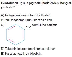 Karbonhidratlarazottürevlerivearomatikbilesiklericözümlütest1011
