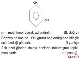 Karbonhidratlarazottürevlerivearomatikbilesiklericözümler1009