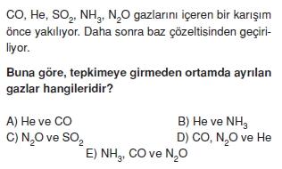Kimyasalbaglarvebilesiklercözümlütest2010