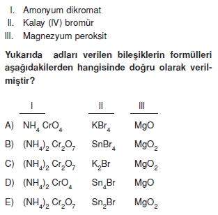Kimyasalbaglarvebilesiklerkonutesti3003