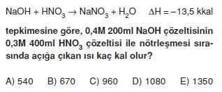 Kimyasaltepkimelerdeenerjicözümlütest1005
