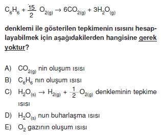 Kimyasaltepkimelerdeenerjikonutesti2003