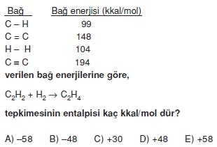 Kimyasaltepkimelerdeenerjikonutesti2008