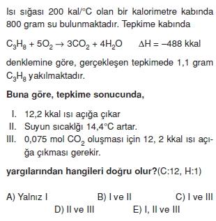 Kimyasaltepkimelerdeenerjikonutesti2009