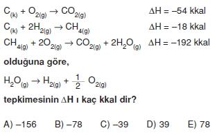 Kimyasaltepkimelerdeenerjikonutesti2012