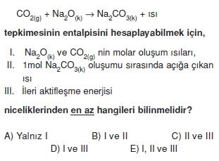 Kimyasaltepkimelerdeenerjikonutesti3006