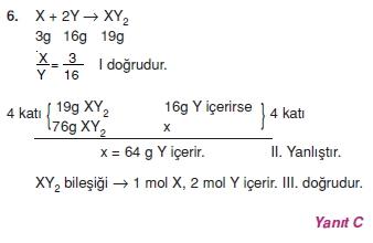 Kimyasalyasalarcözümlütest2006
