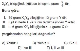 Kimyasalyasalarcözümlütest2011