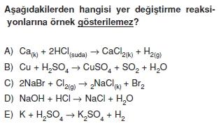 Kimyasalyasalarhesaplamalarcözümlütest2003