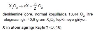 Kimyasalyasalarhesaplamalarcözümlütest2005