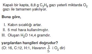 Kimyasalyasalarhesaplamalarcözümlütest2006
