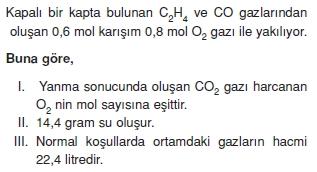 Kimyasalyasalarhesaplamalarcözümlütest2008