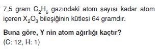 Kimyasalyasalarhesaplamalarcözümlütest2013